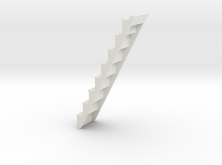 Attic Staircase 3d printed