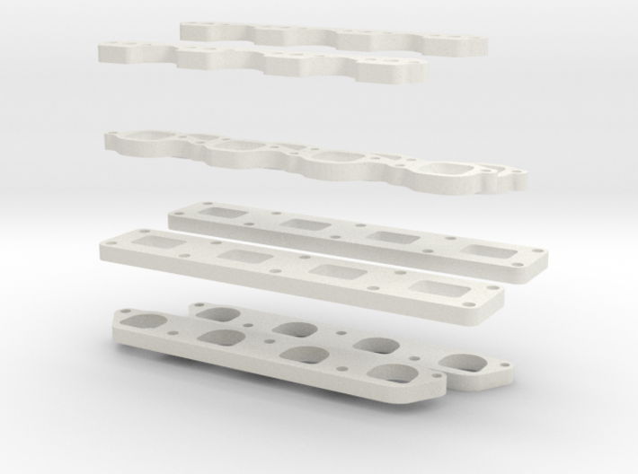 Flanges 3d printed