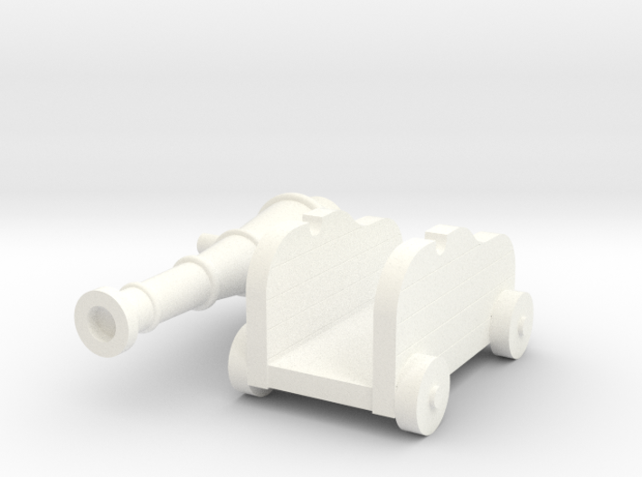 Martian Large Gun 28mm 3d printed
