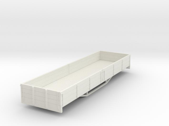 OO9 bogie 3 plank dropside wagon 3d printed