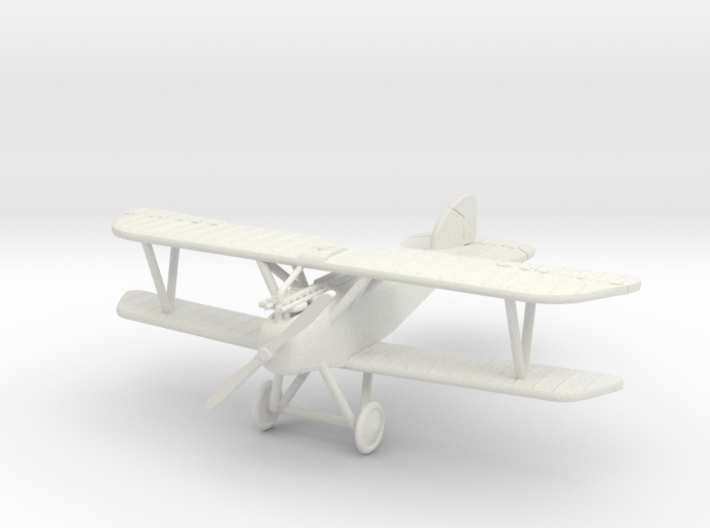 "Albatros (Oeffag) D.III ""No Cowling"" 1:144th Scale 3d printed"