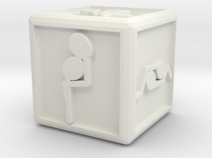 med dice 3d printed