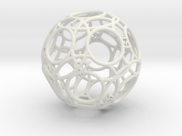 Monstrous Moonshine Die(Simple) 3d printed