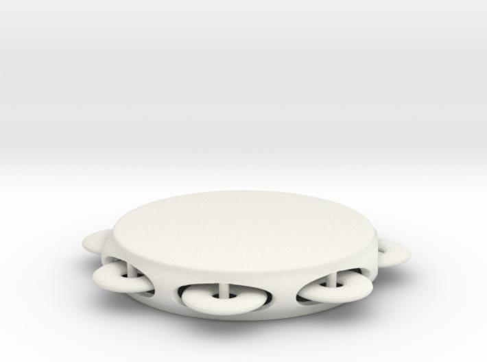 Minimum tambourine 3d printed