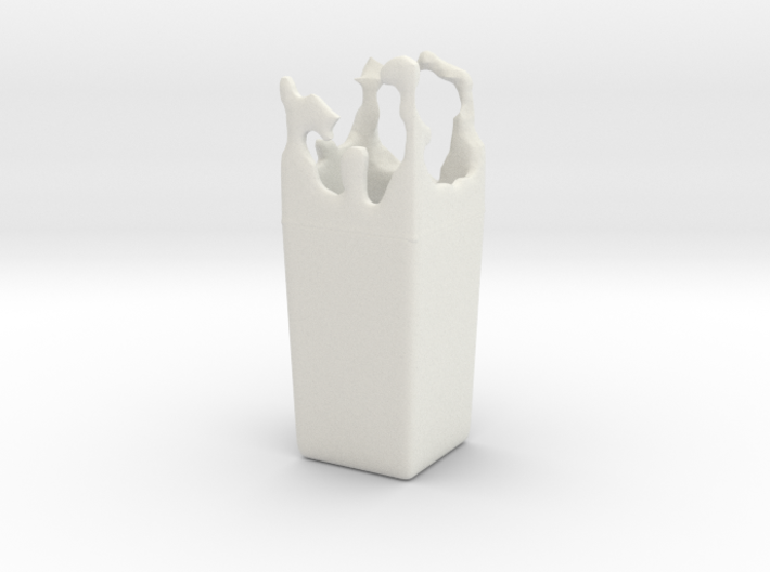 Splash Vase 3d printed