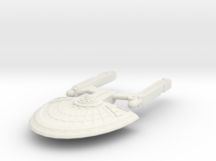 USS Jester 3d printed