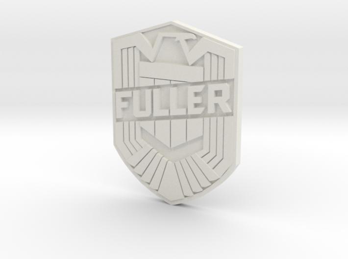 Fuller Badge 3d printed