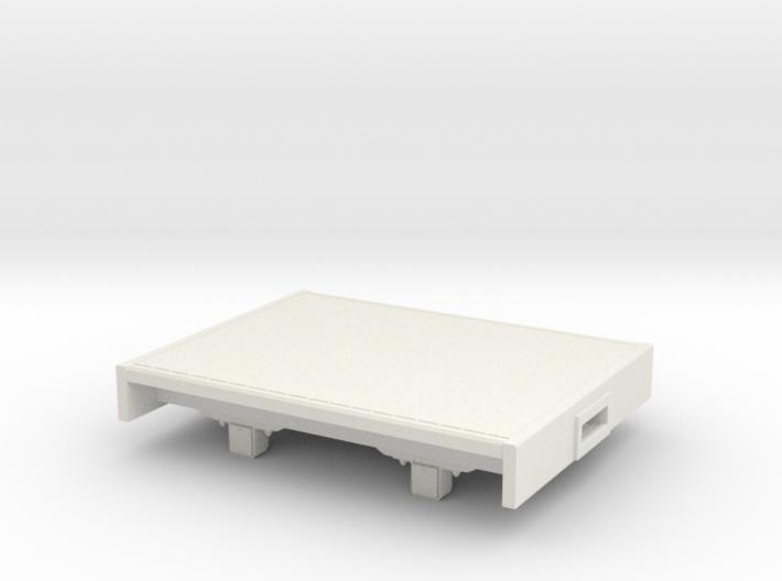O9/On18 Flat (kadee) 3d printed