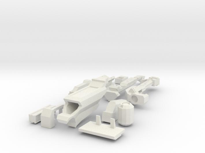 heavy plasmarifle for XVs 3d printed