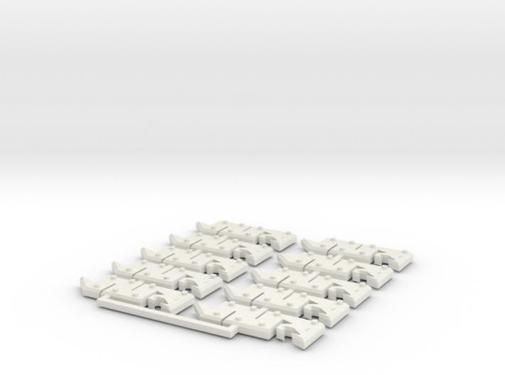 Snakebites glyphs 3d printed