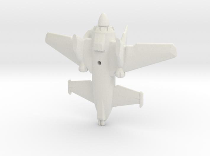 SkyLance Fighter Plane 3d printed