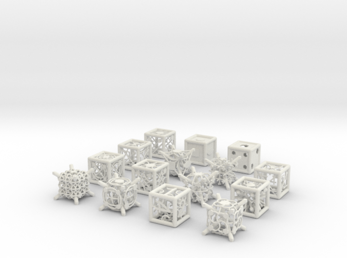 Grid Die All Pack 6 of 13 3d printed