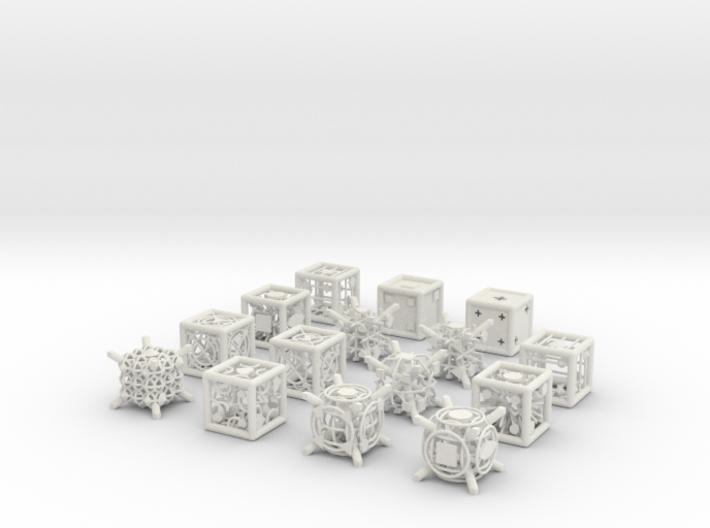 Grid Die All Pack 5 of 13 3d printed