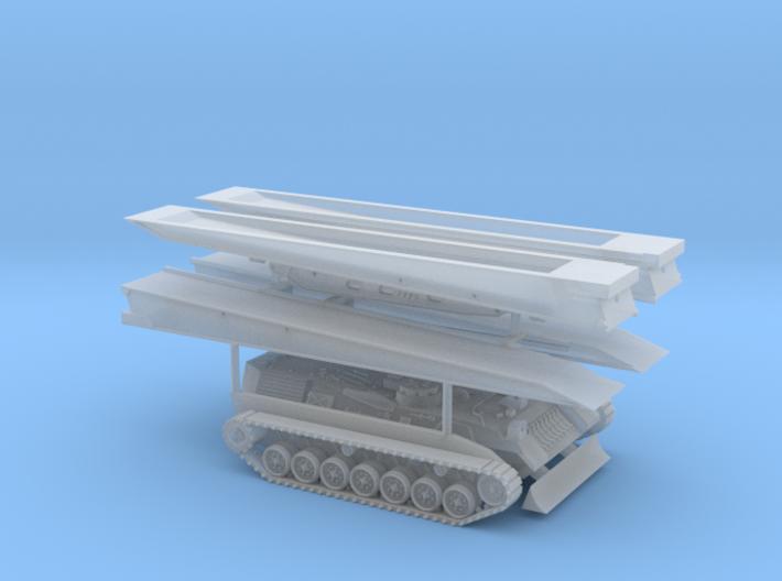 Brückenlegepanzer Biber Spur Z 1:220 3d printed
