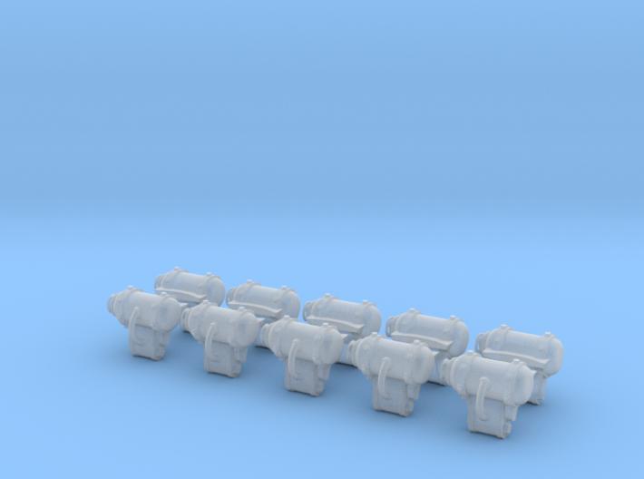 Backpack 4 (x10) 3d printed