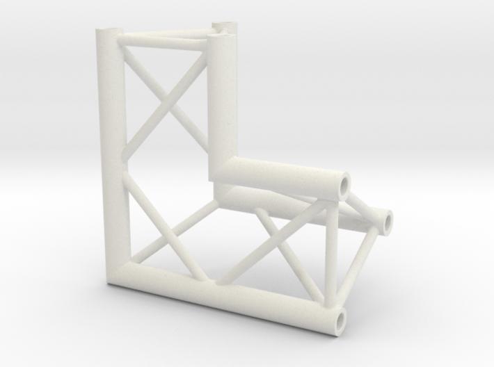 Truss DT33 corner miniature 3d printed