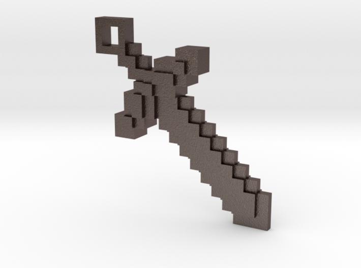Minecraft - Sword 3d printed