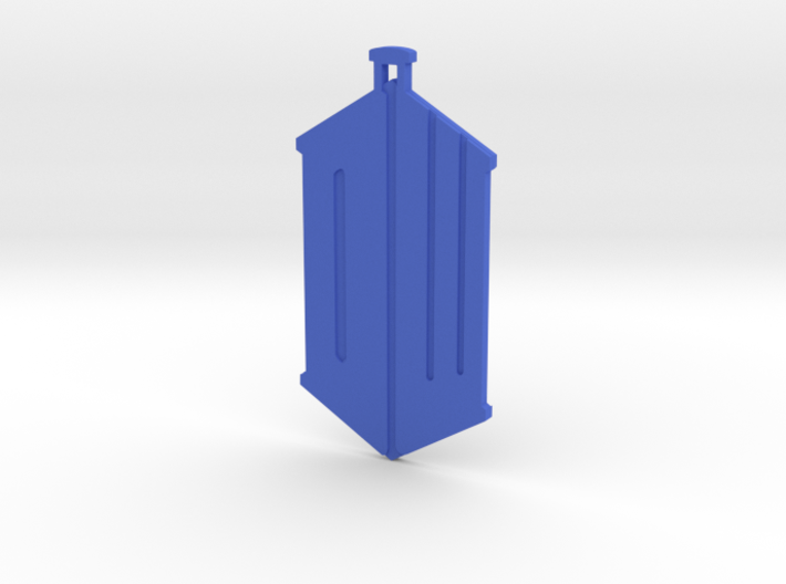 Dr Who Logo Pendant 3d printed