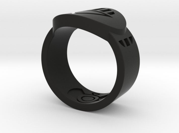 Death FF Ring Sz 11 3d printed