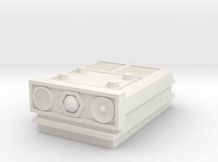 Tracking Plate for turret 3d printed