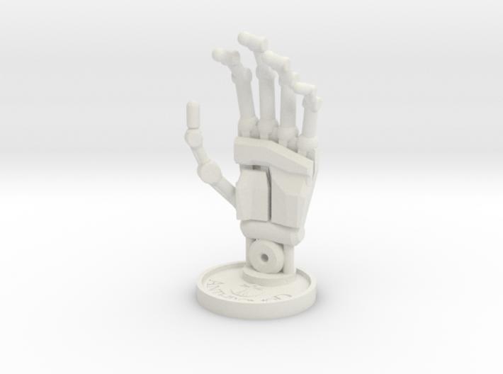 Sculpture Hand 100mm 3d printed