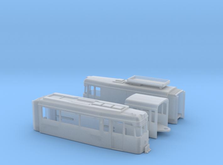 Arbeitstriebwagen Gotha G4-67 Erfurt 3d printed