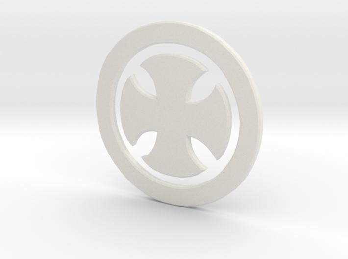 Templarsymbol 3d printed