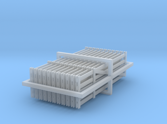 Farm Gates 1:120 3d printed