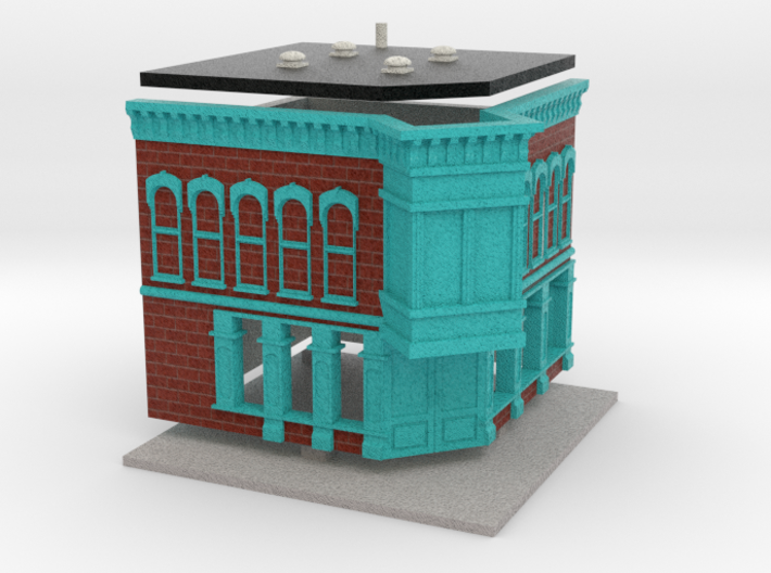 Test Store - Z scale 3d printed