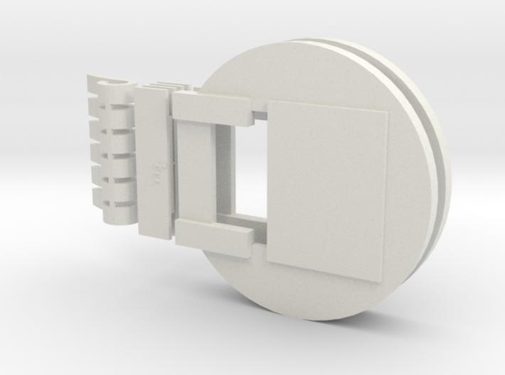 Fluebasev5 (Narrow mouth version) 3d printed