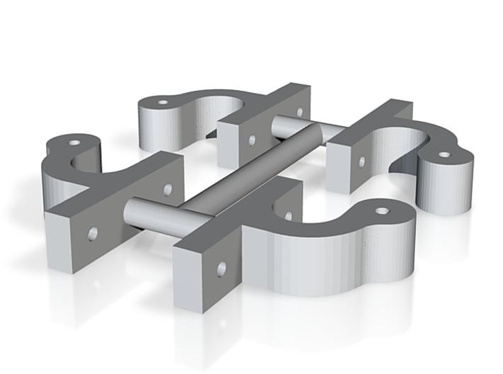 Federträger für Drehgestell Bauart Wismar IIf 3d printed