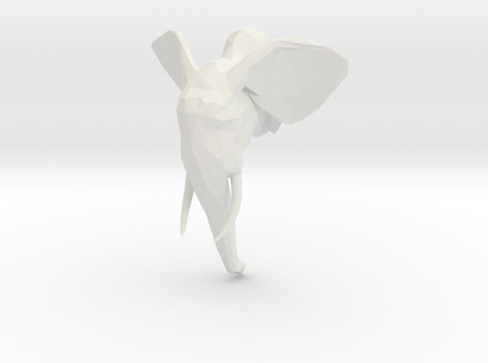 Elephant 3d printed