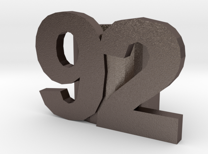 92slide optimized for Metal 3d printed