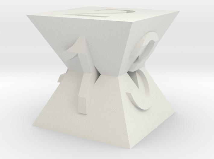 Pyramid Die 3d printed