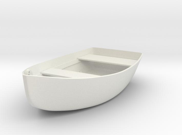 row-boat pendant 3d printed
