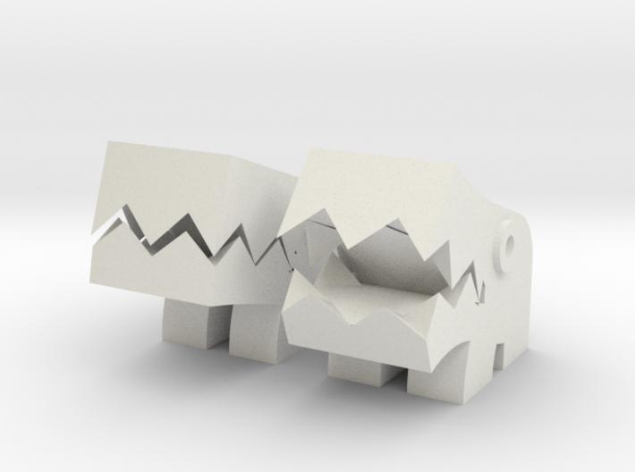 Shisa (Pair mascot) 3d printed