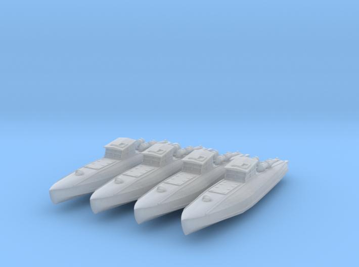 CMB 55 Foot - 1:350 3d printed