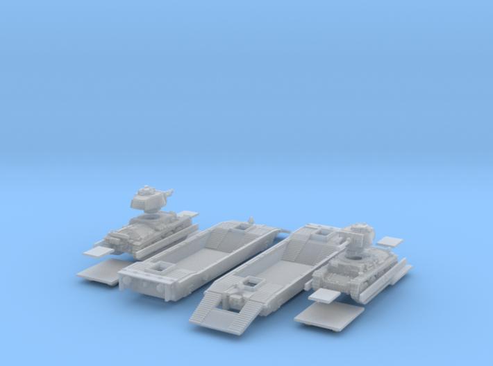 1-160 2x Pz-Tr-W+ PzKpfw 38t For BP-42 3d printed