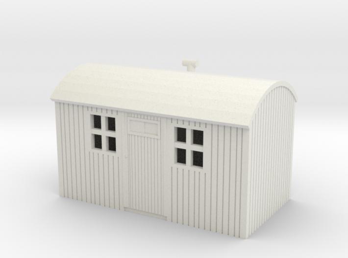 NZR Workmens Hut 1:120 3d printed