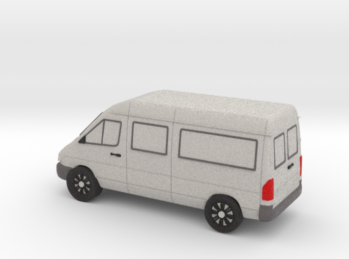 Sprinter Van Tiny, Color 3d printed