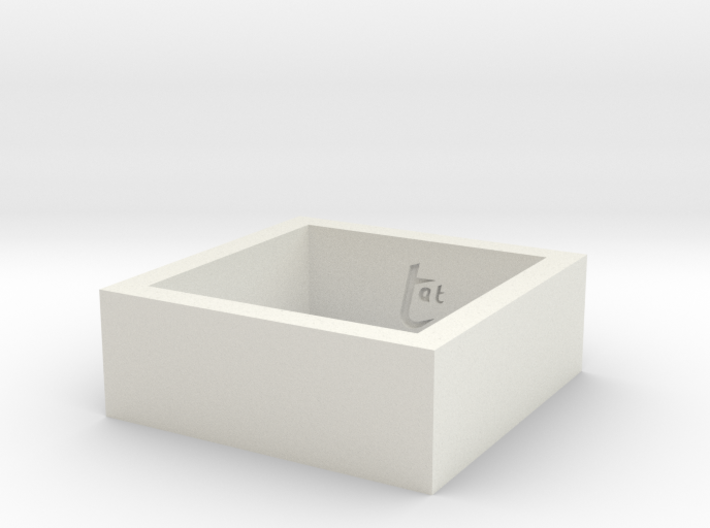 SquareRing_18mmx8mm 3d printed