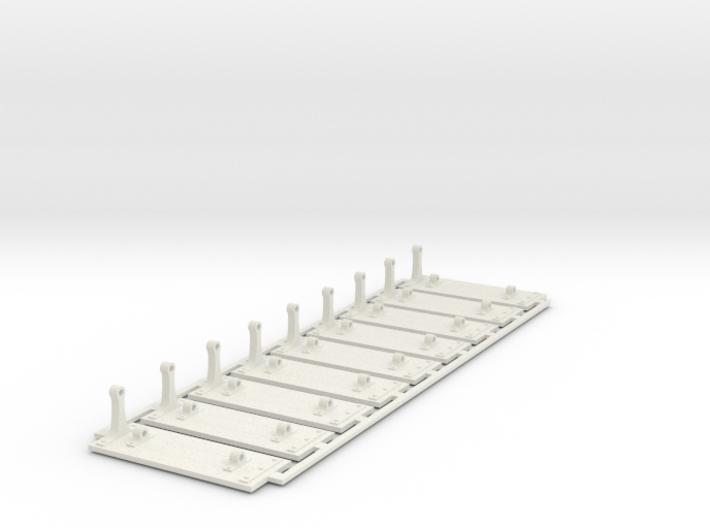 Paddlewheel Paddles 3d printed