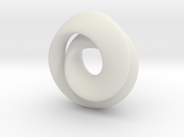 Hourglass - double mobius 3d printed