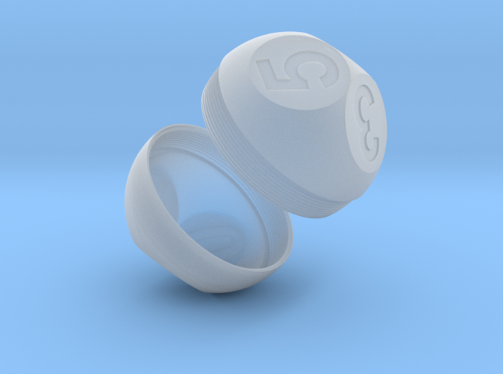 Outer Shell D6(0-5) 3d printed