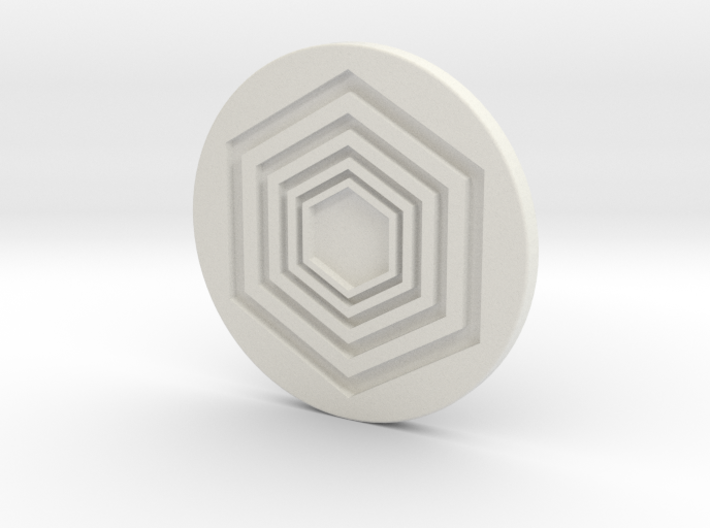 Ball Marker 3d printed