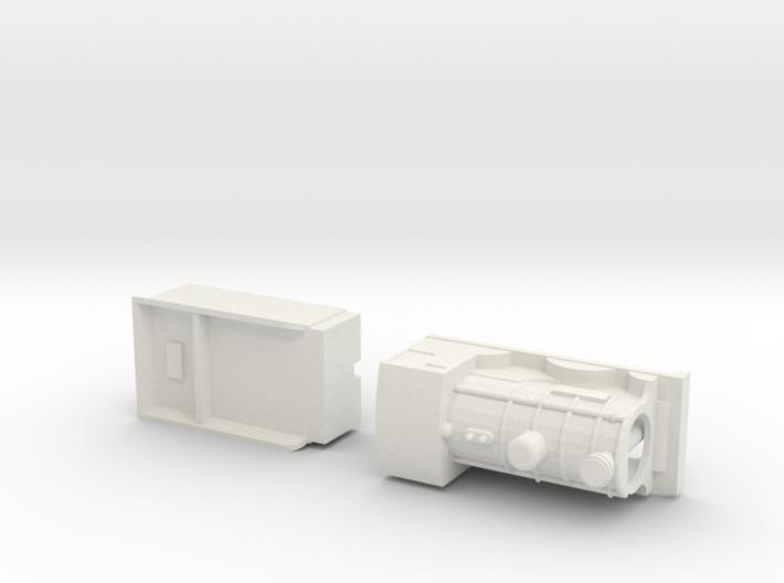 Capsule CR 812 model loco and tender. 3d printed