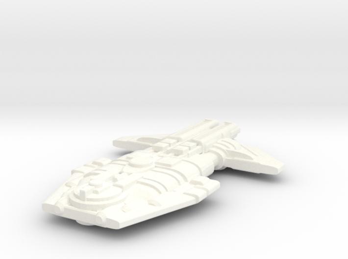 Malkorian Heavy Cruiser 3d printed