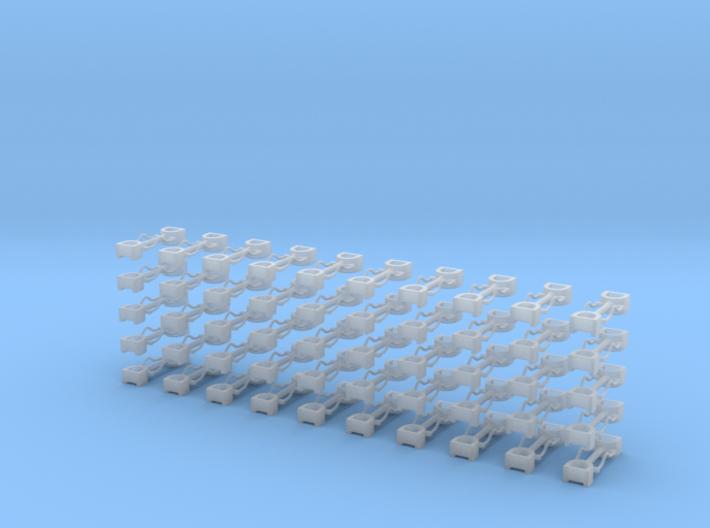 Kurzkupplung starr 2-fach Anschluß 3d printed