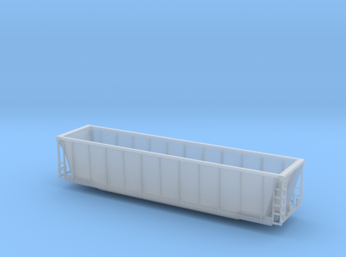 Z scale Coalveyor (tm) bathtub gondola 3d printed