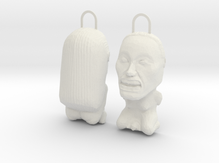 INDIANA JONES FERTILITY IDOL FRONT & BACK 3d printed